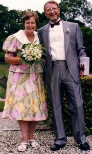 Den 8. august 1992 blev Arne Skjelsager viet til sin 2. hustru, Annet Laursen.