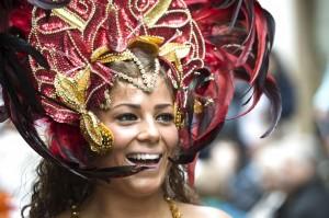 Hannah Maria Roos kan meget mere end at danse samba. På søndag den 21. juni kan man også hører hende synge Halfdan Rasmussen, Sanne Salomonsen/H.H. Koltze og Anders Mattesen. Foto privat.